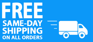 Free Same Day Shipping On All Orders